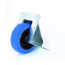 Kanteneinbaurolle 100mm blaues Rad 200KG Belastbarkeit
