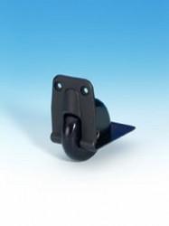 Kanteneinbaurolle 58 mm in Kunststoffgehäuse AH 3738