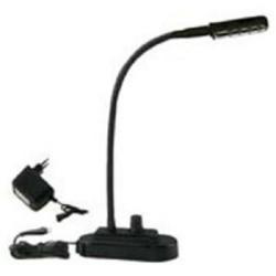 Dap Audio 60730 Schwanenhalslampe LED Flexlite mit Sockel dimmbar