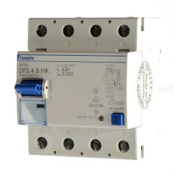 Doepke DFS 4B NK 63/0,03A Fehlerstrom Schutzschalter allstrom sensitiv 09144995