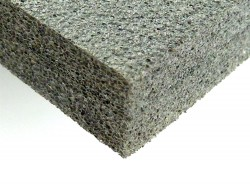 (Grundpreis 7,95€/m²) 2 m² PE Schaumstoff 10mm grau