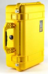 Peli 1500 gelb Würfelschaumstoff Koffer Kamerakoffer