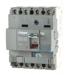 Hager HHA064H Leistungsschalter 63A 3polig 313089