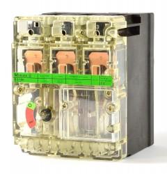Moeller N6-100 Leistungstrenner Hauptschalter 3 polig 100A vorderseitige Schaltachse