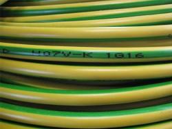 (Grundpreis 0,59€/m) H07V-K Litze 6mm² grün-gelb Aderleitung 100m Ring