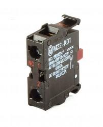 Moeller M22-K01 Öffner Kontakt front 216378