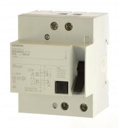 Siemens 5SM3322-4 Fi Schalter 2 polig allstromsensitiv