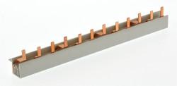 Phasenschiene Stift 10mm² 3 phasig Sammelschiene