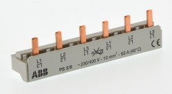 (Grundpreis 1,50€/Stk.) ABB PS3/6 Phasenschiene 10mm² VPE50Stk. 2CDL231001R1006