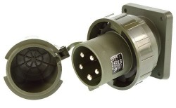 Bals 2704 Anbaugerätestecker schräg 63A 5 pol. IP67