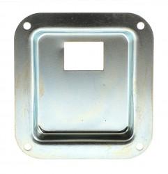 Einbauschale für Kaltgerätestecker 112x102mm