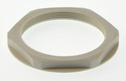 Gegenmutter Kunststoff grau M63 Lapp SKINTOP® GMP-GL M63x1,5 lichtgrau 53119073