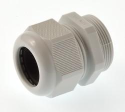 Kabelverschraubung PG29 Polyamid 18-25mm hellgrau RAL7035
