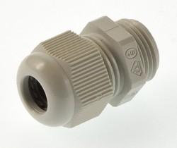 (Grundpreis 0,745€/Stk.) Vpe. 20 Stück Kabelverschraubung PG11 lichtgrau Ral7035 5-10mm