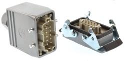 Weidmüller Steckverbindung 10 polig AVU-HBD24TOVU-M25 Kunststoffverschraubung , Schraubanschluß