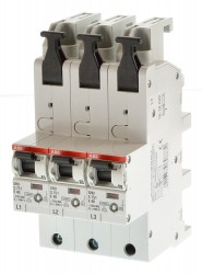 ABB S751/3 - E35 SHU 3er Block S751 E35 Hauptsicherungsautomat 2CDS781001R4352