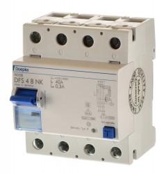 Doepke DFS 4B NK 40/0,3A Fehlerstrom Schutzschalter allstrom sensitiv 09136995