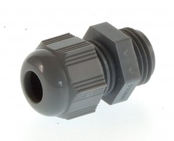 (Grundpreis 0,45€/Stk.) Vpe. 20 Stück Kabelverschraubung M16 Helutop-R DG 2-7mm RAL7001 grau