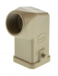 Harting Han 3A-GW-11 Tüllengehäuse Kunststoff gewinkelt 09200030620