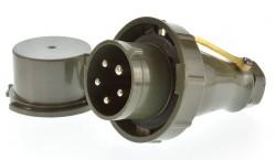 Mennekes 20453 CEE Stecker TM 32A 5P 6h ip67 gebraucht