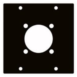 Modul 2/10  für 8 polige Speakon Einbaubuchse / Modulsystem