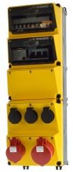 Mennekes 950326GE Steckdosen-Kombination AMAXX gelb