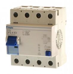 Doepke DFS4KV 100 /0,03 Fehlerstromschutzschalter, Puls + Wechselstrom , gewitterfest