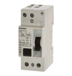 Siemens 5SM1312-6 Fi 25A 0,03A Fi tief 55mm 2p ohne Ovp.