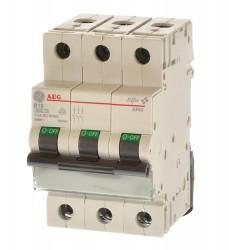 AEG GE EP63B63 Leitungsschutzschalter B63 3polig 566590