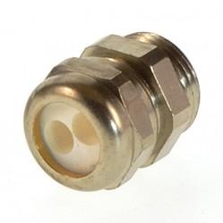 Kabelverschraubung Messing PG11 Schlemmer KVMA-11 2x6mm