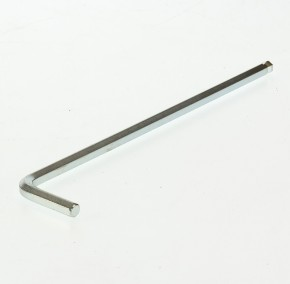 Gedore 42 KEL-6mm Winkelschraubendreher extra lang, mit Kugelkopf