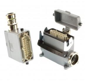 Steckverbindung16 polig HBD40-SDVL1-29/HBD40-TSVL21-SS-MS
