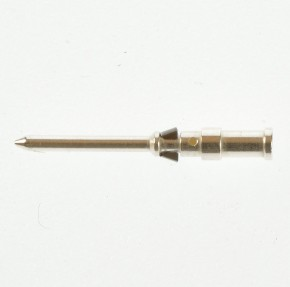 (Grundpreis 0,28€/Stk.) 100 Stück Harting HAN D Stiftkontakt Lötkontakt versilbert für D/DD 24-108