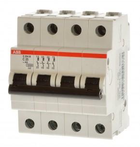 ABB S204M-C25 Sicherungsautomat 2CDS274001R0254