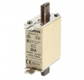 Siemens 3NA3820 NH Sicherung Gr.000 / 50A AC 500V gl/gG