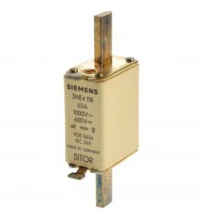 Siemens 3NE4118 NH Sicherung 80A