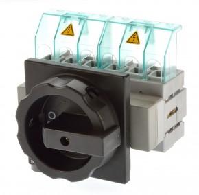 Siemens 3LD2504-3VK51 Hauptschalter 63A 6polig schwarz