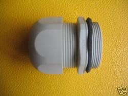 Kabelverschraubung M63 lichtgrau Ral 7035 Klemmbereich 34-45 mm