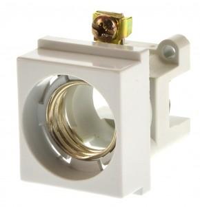Wöhner 01953 D Einbau Sicherungssockel E27 60mm Sys
