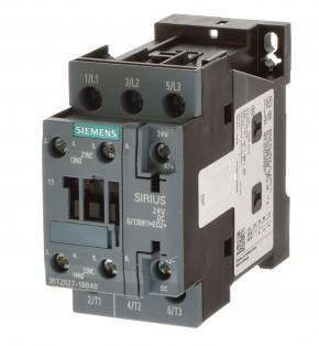 Siemens 3RT2027-1BB40 Schütz 15KW Spule 24VDC ohne Ovp.