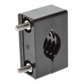 Zugentlastung Klemmblock für C-Profil Kabelklemme bis ca 43mm