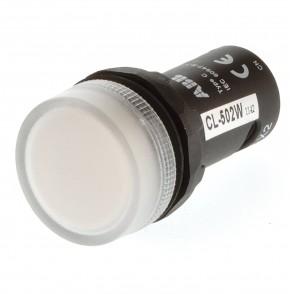 ABB CL-502W Meldeleuchte weiß LED 24V AC/DC 1SFA619402R5025