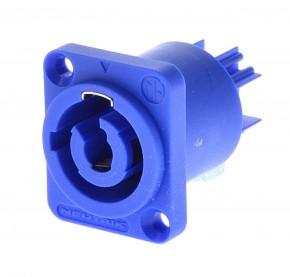 NEUTRIK NAC3MPA PowerCon Einbaubuchse blau - 3polig / NA-C-3MPA