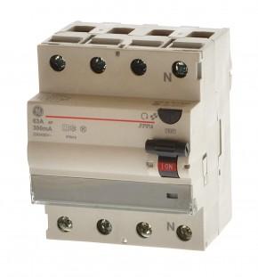 AEG GE FPPA463/300FI-Fehlerstromschutzschalter Fixwell A 4P 63A 300mA 678376