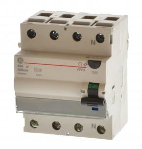 AEG GE FPPA440/300 FI-Fehlerstromschutzschalter 40A 300mA 4polig 678375