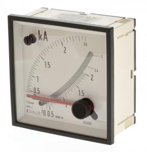 Zurc EMC96 P2 2000/1A 15m. Amperemeter für Wandler