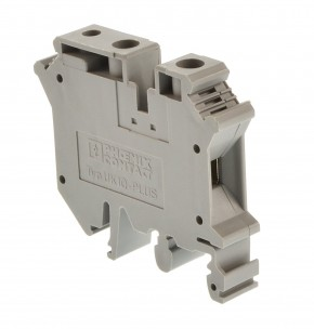 Phoenix Contact UK 10-PLUS Reihenklemme grau 3001381