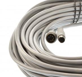 Waeco Verbindungskabel grau Mini Din Stecker auf großen Din Stecker