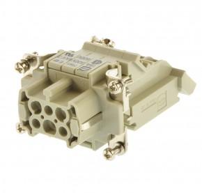 Harting HAN 6 ES-AV-F-LINKS Anschlußverteiler B6 09330064725 Buchse