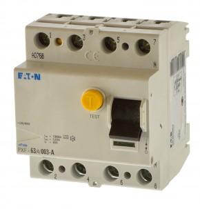 Eaton PXF-63/4/003-A Fi Schalter 4polig 0,03A 236780  Fehlerstromschutzschalter